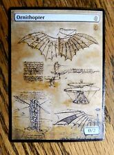 Magic the Gathering MTG altered art Ornithopter