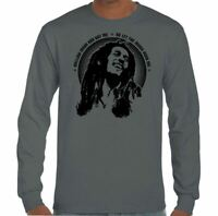 Bob Marley T-Shirt Mens Reggae Music Jamaica Wailers Jamaican Top Mellow Mood