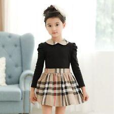 Unbranded Girls' Long Sleeve Dresses (Sizes 4 & Up)