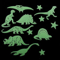 Star Dinosaur Fluorescent Stickers Glow In The Dark Decal Home Room Decoration