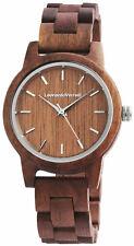 Leonardo Verrelli Uhr Damen 2800025-002 Holzuhr Walnussholz braun Neu