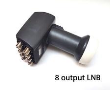 OCTO INVERTO BLACK ULTRA LNB LMB EIGHT WAY SATELLITE HIGH GAIN 8 WAY 5 6 7 0.2dB