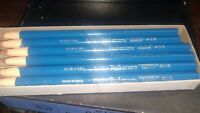 Vintage Dixon Rubacore Typewriter Paper Rolled Stick Eraser Box of 12 New NOS