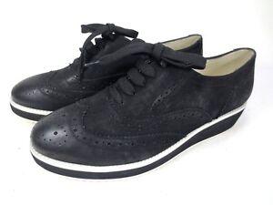 GERRY WEBER  Sneaker Leder Schuhe Dandy NEU 119,95 schwarz weiß