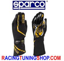 Guanti Kart SPARCO bimbo Torpedo Kg5- Karting Gloves 7 Nero Giallo Children
