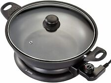 Judge JEA88 32cm Electric Wok 3.7L Non-Stick Table Fry Pan 1 Year Guarantee