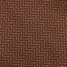 TOM FORD Brown Burnt Orange Peach ZIG ZAG Woven Silk Tie NWOT