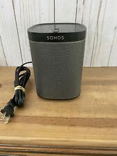 SONOS PLAY 1 BLACK -  Wireless Speaker - WiFi & Ethernet compatible.