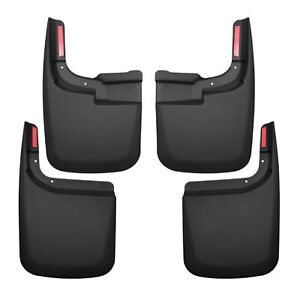 Husky Liners 58466 Front & Rear Mud Guard Flaps for F-250 w/out Fender Flares