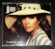 J Lo - Jennifer Lopez - I'm Gonna Be Alright - CD Single - Australia