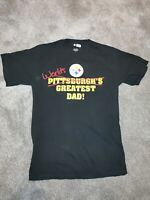 Steelers Worlds Greatest Dad T-shirt Vintage NFL OFFICIAL