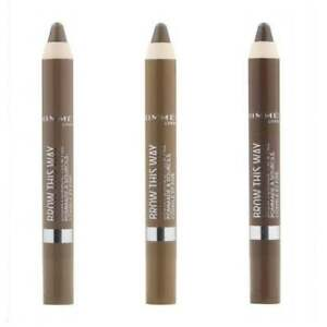 Rimmel Eyebrow Brow This Way Pencil 3.25g - **New** - Choose Your Shade
