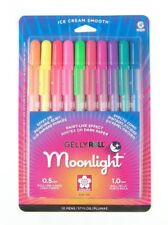Sakura 38176 Gelly Roll Moonlight Set of 10 Pens Sketch Drawing Art Craft NEW