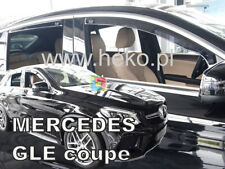 SET 4 DEFLETTORI ARIA MERCEDES GLE COUPE C292 2015 IN POI - ANTITURBO ABS