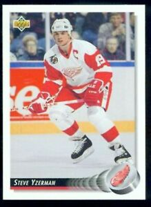 1992-93 UPPER DECK DETROIT RED WINGS TEAM SET (21)