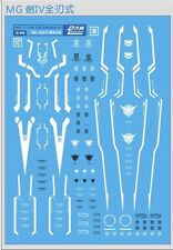 US Seller D.L Dalin MG 1/100 00 Qan[t] Qant Waterslide Decal for Gundam Gunpla