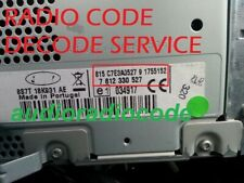 RADIO CODE TRAVELPILOT FX NX EX CD PLAYER DECODE UNLOCK CODE BLAUPUNKT