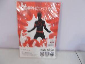 New Morph Costumes Kids Ninja Costume Large Morph Suit