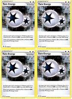 Pokemon Rebel Clash Energy Set - Twin Energy 174/192 - Sword & Shied Playset Lot
