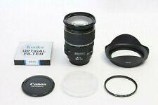 Canon EF-S 17-55mm f/2.8 IS USM EOS DIGITAL Lens EX+ BONUS UV Filter and Hood