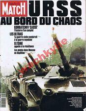 Paris Match n°2205 du 29/08/1991 Putch URSS Gorbatchev Eltsine Bruel Garouste