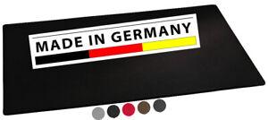 Schreibtischunterlage Leder Schreibunterlage 63x43cm Auflage schwarz 5 Farben