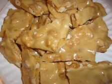 AWESOME HOMEMADE PEANUT BRITTLE ~ MADE TO ORDER ~ 1 FULL POUND!!