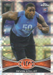 2012 Topps Chrome Xfractors FB Cards 1-220 (A7490) - You Pick - 10+ FREE SHIP