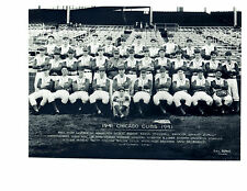 1941 CHICAGO CUBS 8X10 TEAM PHOTO BASEBALL HOF  HACK CUYLER WRIGLEY HOF ILLINOIS