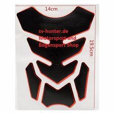 Tank Pad Aufkleber Sticker Schutz 3D Carbon Honda Suzuki Kawasaki Yamaha Ducati