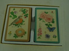Creative Papers Playing Cards Natures Garden C R Gibson Ellen Blonder 2 Two Deck