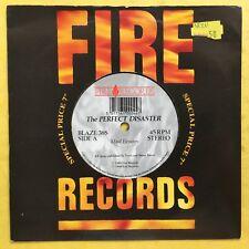 The Perfect Disaster  - Mood Elevators / Listen - Fire Records BLAZE38S Ex
