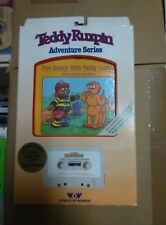 2 Teddy Ruxpin adventure series fire safety with teddy Ruxpin In Retail Box