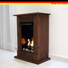 Ethanol Firegel Fireplace Cheminee Chimenea Madrid Premium Walnut + 21 piece set
