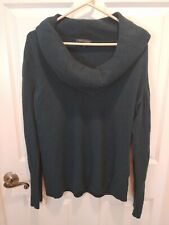 Banana Republic Merino Wool Cashmere Cowlneck Sweater Pullover Long Sleeve XL