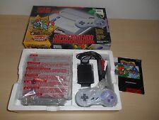 Super Nintendo Control Deck Yoshi's Island Mini 101 System Complete SNES Console