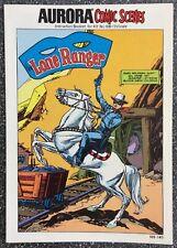 Aurora Comic Scenes: Lone Ranger 188-140 (1974) Gil Kane Art