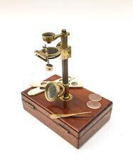 RARE Portable Microscope by Field of Birmingham c1840