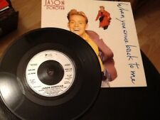 JASON DONOVAN . WHEN YOU COME BACK TO ME . MINT UNUSED 1989