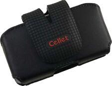 Cellet Fusion Black Pouch Case Belt Clip For Motorola Razr V3 V3C V3M Katana