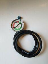 Vintage Schauer Auto Vacuum And Fuel Pump Pressure Tester Diagnostic Gauge