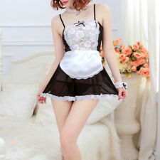 Dress Chemises Cosplay Suit Lingerie Costumes Sexy Lace Game Uniform Maid