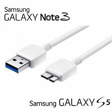 SAMSUNG (Galaxy Note 3 & Galaxy S5) MICRO USB 2.0 DATA CHARGER CABLE CORD - 1m
