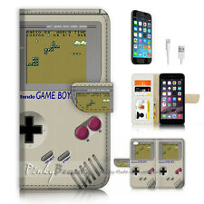 ( For iPhone 7 ) Wallet Case Cover P3305 Game Boy