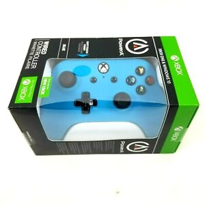 Power A Wired Controller for Xbox One Windows 10 - Blue