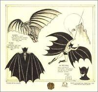 """Batman DaVinci"" Signed by Bob Kane Printers Proof Edition #63/100"