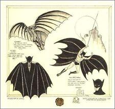 """Batman DaVinci"" Signed by Bob Kane Printers Proof Edition #49/100"