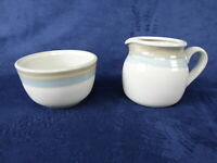 Noritake Stoneware PAINTED DESERT Creamer Cream & Sugar Open Bowl 8603