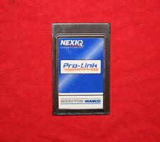 Nexiq 804014 Pro-Link Meritor Wabco ABS Brake Application Diagnostic Card w/PLC