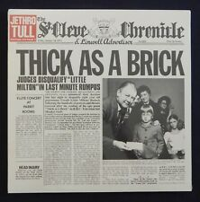 """JETHRO TULL """"THICK AS A BRICK""""  / FACTORY SEALED"""